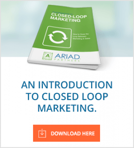 An Introduction to Closed Loop Marketing